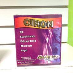 Tabletas Ciron, para presión alta, estres, mareos, dolor de cabeza, zumbido de oidos,migraña. suplemento alimenticio.