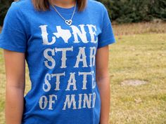 Lone Star State of Mind Slim Fit-Glitter by TexasSweetTees on Etsy https://www.etsy.com/listing/219644892/lone-star-state-of-mind-slim-fit-glitter