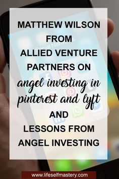 Lessons on angel investing Small Business Marketing, Business Tips, Online Business, Build A Blog, Financial Tips, Social Media Tips, Money Saving Tips, How To Start A Blog, Investing