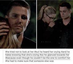 Its soo true!!!! #Olicity #Arrow #302 #felicity #oliver