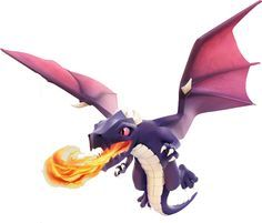Clash of Clans Dragons | TroupeDragon