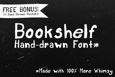 Bookshelf + Bonus by Zach and Beth on Creative Market