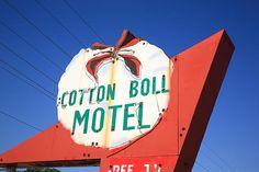 "Route 66 - Cotton Boll Motel, Canute, Oklahoma. ""The Fine Art Photography of Frank Romeo."""