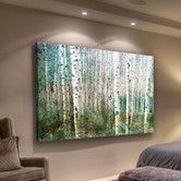 Found it at Wayfair - Aspen Green by Parvez Taj Graphic Art on Wrapped Canvas