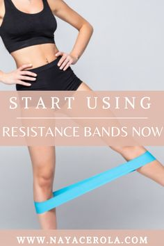 This is the main reason you need to start using resistance bands to workout resistance bands/ homeworkouts /exercises /fitness/ fitness goals At Home Workouts For Women, Beginner Workout At Home, Workout For Beginners, Stretching Exercises, Resistance Bands, Fitness Goals, Fun Workouts, Fit Women, Abs