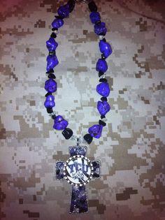 Texas Christian University Necklace