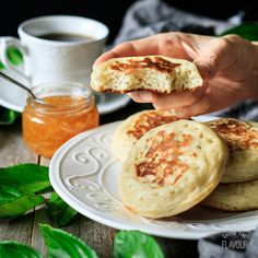 Learn how to make these easy English crumpets for afternoon tea or breakfast. Enjoy a relaxing cup of tea and these delicious homemade crumpets. How To Make Crumpets, Tea And Crumpets, English Crumpets, Homemade Crumpets, Crumpet Recipe, English Muffins, Afternoon Tea, Bakery, Brunch