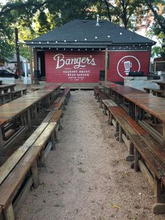 Bangers Sausage House and Beer Garden Austin Texas
