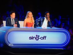 New judges. Sing Off with Jewel