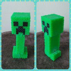 Minecraft Creeper perler beads by FluffyRosey