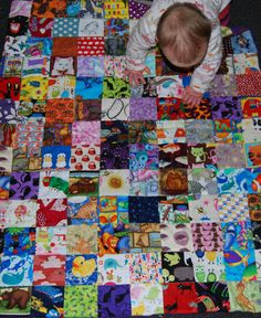 animal madness quilt - so cute!