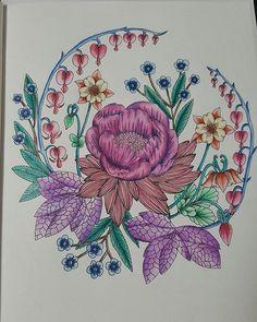 #blomstermandala #adultcoloring #carandachepablo #wildflowers #mariatrolle