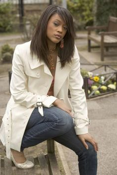 Chelsea Fox played by Tiana Benjamin.- Guess we won't be seeing her in the US for a while