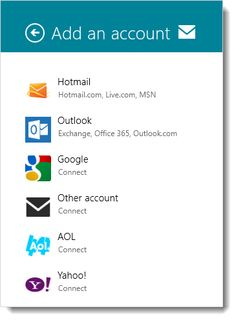 How To Add Gmail And Yahoo Accounts In Windows 8 Mail