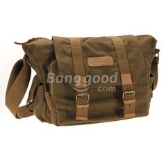 Canvas Vintage DSLR SLR Camera Bag For Nikon Sony And Others     Total Price:    €26.28