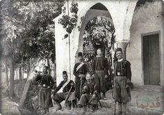 فرقة من الجندرمة في بيروت ايام الحكم العثماني