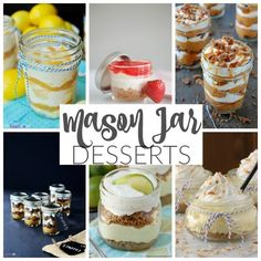 Incredibly Delicious #MasonJar Desserts | #Desserts perfect for bridal showers, baby shower, holiday and Christmas parties and so many other special occasions! | dreamingofleaving.com