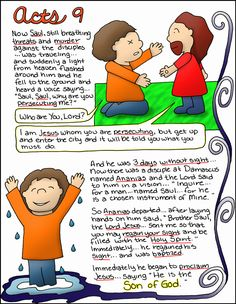 Doodle Through The Bible Acts 9