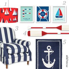 nautical carpet   ... lamp 2 art prints set of 3 3 laura ashley chair 4 oars 5 nautical rug