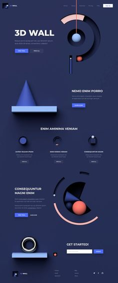 This is our daily Web app design inspiration article for our loyal readers. - This is our daily Web app design inspiration article for our loyal readers. Web And App Design, Ui Ux Design, Cool Web Design, Design Sites, Web Design Mobile, Font Design, Web Design Tips, Web Design Trends, Page Design