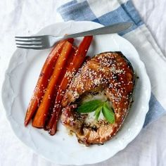 Salmon in Honey-Soy Glaze