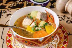 Sopa de pescado, receta casera Pescatarian Diet, Seafood Soup, Healthy Soup, Thai Red Curry, Ramen, Ethnic Recipes, Homemade Recipe, Tasty Food Recipes, Vegetables