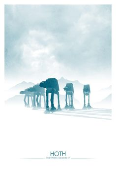 Star Wars: Episode V – The Empire Strikes Back poster by DirtyGreatPixels