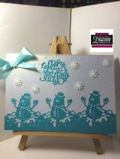 Christmas Edge'ables - July 2016 - Crafter's Companion Portfolio
