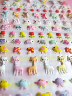 Kawaii Mini Puffy Stickers from Japan by MIPOH on Etsy, $3.00