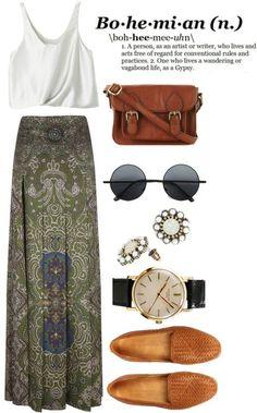 boho chic, bohemian skirt, long skirts, summer outfits, bohemian look
