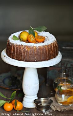 Baking | Orange Almond Cake {gluten free} ... light, healthy, delicious and glutenfree {I'm ready for the new year}