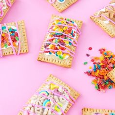Here at All For Color we have a passion for all things fruity colorful sweet and fun. Therefore this is why we feel that these @aww.sam  breakfast cereal pop-tarts need to be made ASAP! What do you think?     #sobestfriendsforfrosting #soloverly #colorventures #thatcolorproject #abmlifeiscolorful #pursuepretty #sugarandclothloves #mybeautifulmess #myunicornlife #makeyousmilestyle #ihavethisthingwithcolor #Calledtobecreative #bandofun #candyminimal #thecandyrainbow #allforcolor #colorave