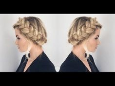 How To Create a Halo Hairstyle
