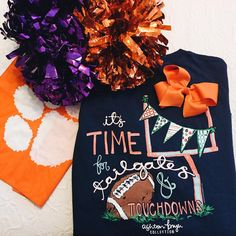 Shop Now  AshtonBrye.com  Clemson football and Ashton Brye tees. You know we love the Tigers!