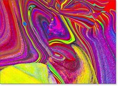 Fotopittura: vendita quadri astratti cod. 2B1Q3727