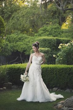 Frasinetti's Winery & Restaurant - Sacramento, CA, United States. Bride in beautiful gardens of Frasinetti's Winery. Wedding photography by Jewel Photography of Sacramento.
