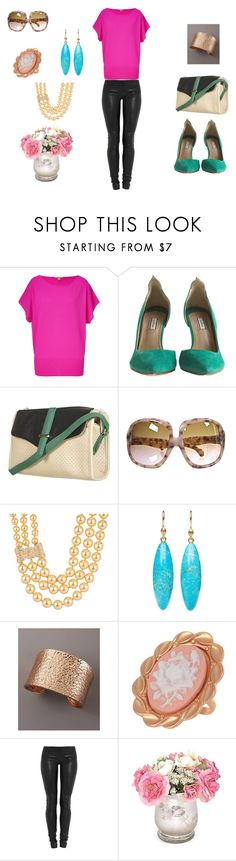 On the go Saturday by mary-heyn-rimes on Polyvore featuring Michael Kors, Jay Ahr, By Malene Birger, Nest, And Mary, Kate Spade, Ted Muehling and Yves Saint Laurent
