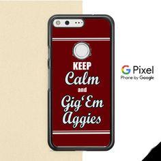 Texas A M Gig Em Aggies Google Pixel Case