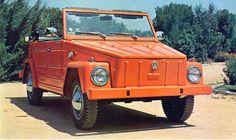 Volkswagen Type 181 (1969) - Les meilleures voitures de plage