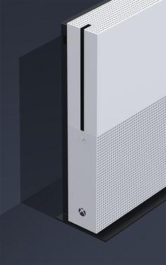 xbox design Xbox One S l Xbox design team - xboxseries Id Design, Form Design, Pattern Design, Graphic Design, Xbox One S, Xbox One Games, Playstation, Photoshop Tutorial, Microsoft