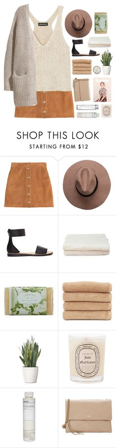 """""""Untitled #2205"""" by tacoxcat ❤ liked on Polyvore featuring Emilio Pucci, Sonia Rykiel, Dirty Laundry, NOVICA, K. Hall Designs (Simpatico), Linum Home Textiles, PLANT, Diptyque, Korres and Lanvin"""