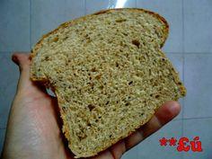 Pão integral feito no processador de alimentos