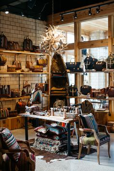 "Photos by Michelle and Chris Gerard Will Adler, whose company, Will Leather Goods just opened a 9000-square-foot ""experience"" store in midtown, says he wants the store to help build community..."