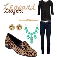 Fall Trend: Leopard Loafers