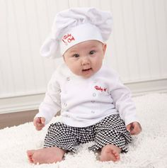baby chef outfit