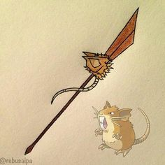 raticate weapon - Google Search