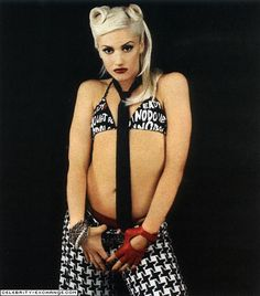 Gwen Stefani- The kickass musical artist and style icon who became big in her 20s, yet is STILL rockin' it today.