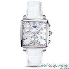 Certina DS Podium Lady Square Chrono C001.317.16.117.00 www.chronojuwelier.com