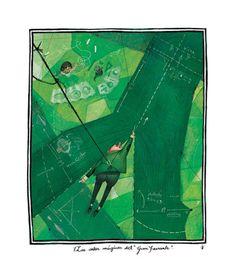 çizgili masallar: The Wonderful Wizard of Oz by Júlia Sardà Children's Book Illustration, Character Illustration, Book Illustrations, Hidden Art, Web Gallery, Wizard Of Oz, Fantasy World, Art World, Illustrators