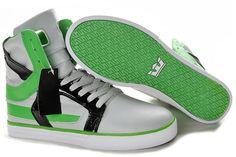 0bb3b2328db8 Buy mens white green black supra skytop ii tuf shoes 25914 at Wish -  Shopping Made Fun